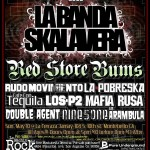 Ska in Montebello, CA with La Banda Skalavera, Red Store Bums and more