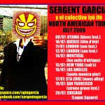 Sargento Garcia live in California with Ricardo Lemvo