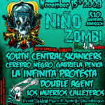 Noche De Terror: Nino Zombi, South Central Skankers, More..