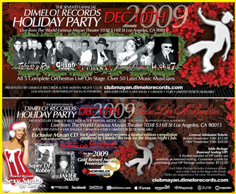 dimelo records holiday party