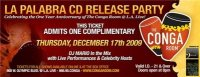 tributetothestage la palabra CD release party