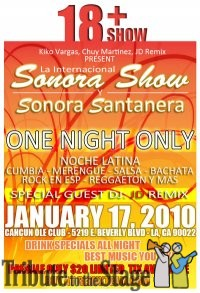 tributetothestage sonora show cancun ole