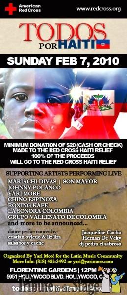 tributetothestage todos por haiti