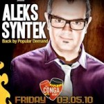 Aleks Syntek at the Conga Room