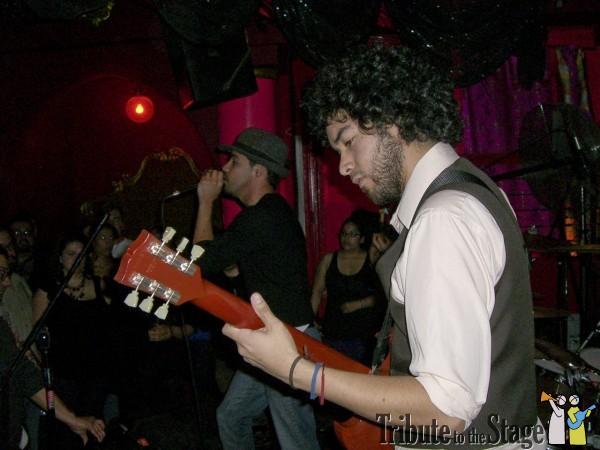 Ruido de fondo live at Bordellos in downtown Los Angeles