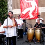 Angel Lebron live salsa at Radisson in Whittier California