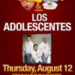 Los Adolescentes live at the Conga Room