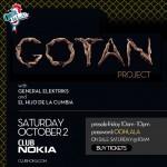Gotan Project, General Elektriks, El Hijo de la Cumbia at Club Nokia