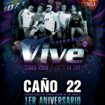 Caño 22, 1st Anniversary, live at the Conga Room