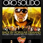 Oro Solido in concert at the Conga Room